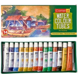 Camlin Kokuyo Student Water Colour Tubes 14 Shades (5ml)