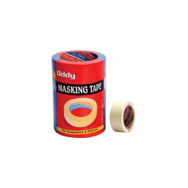 Oddy Masking Tape (Size - 48mm x 30 mtr) Pack of 3