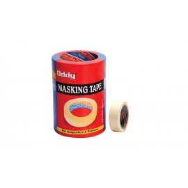 Oddy Masking Tape (Size - 24mm x 30 mtr) Pack of 6