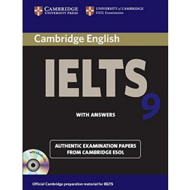 Cambridge IELTS 9 with Answers (with 2 Audio Cds)