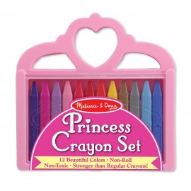 Melissa & Doug Princess Crayon Set (4155)