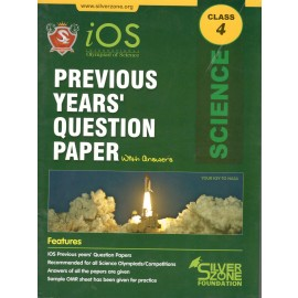 Silver Zone Olympiad Previous Years Question Paper with Answers Science for Class 4