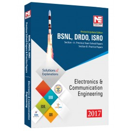 Made Easy BSNL DRDO ISRO Electronics Communication Engineering Previous Solved Papers Edition 4th (2017-18)