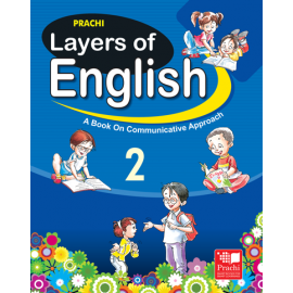 Prachi Layers of English Textbook for Class 2