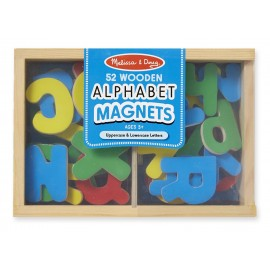 Melissa & Doug Magnetic Wooden Alphabet (448)