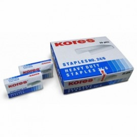 Kores Staple Pin No 24 / 6 (Pack of 20)