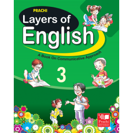 Prachi Layers of English Textbook for Class 3