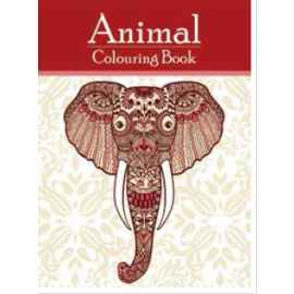 Animal Colouring Book by Pegasus Books