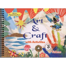 Vishvas Art & Craft with Activities Book with Art Material for Class 3
