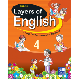 Prachi Layers of English Textbook for Class 4