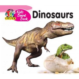 Tricolour Kids Board Book Dinosaurs