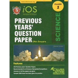 Silver Zone Olympiad Previous Years Question Paper with Answers Science for Class 1