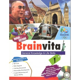 Rohan Brainvita General Knowledge & Life Skills for Class 1