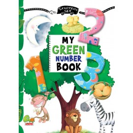 My Green Number Book by Sreya Seth