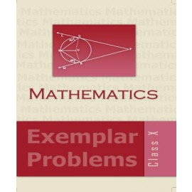 NCERT Exemplar Problems Mathematics for Class 10 (Code16080)