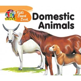 Tricolour Kids Board Book Domestic Animals