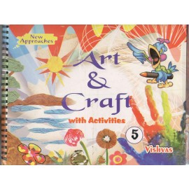 Vishvas Art & Craft with Activities Book with Art Material for Class 5