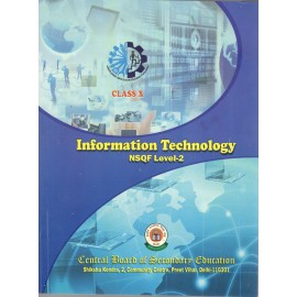 CBSE Information Technology NSQF Level 2 for Class 10