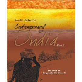 NCERT Contemporary India Part 2 Textbook of Geography for Class 10 (Code 1068)
