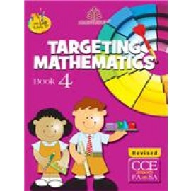 Madhuban Targeting Mathematics for Class 4 by Sheetal Choudhry & Shanti Dhulia