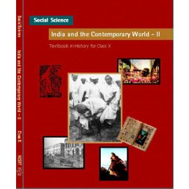 NCERT India and The Contemprory World 2 Textbook of History for Class 10 (Code 1066)