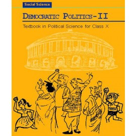 NCERT Democratic Politics 2 Textbook of Social Science for Class 10 (Code 1072)