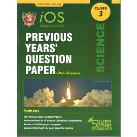 Silver Zone Olympiad Previous Years Question Paper with Answers Science for Class 3