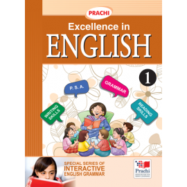 Prachi English Grammar Excellence In English for Class 1