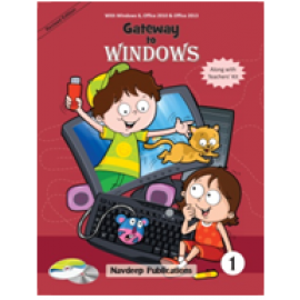 Navdeep Gateway to Windows Textbook for Class 1