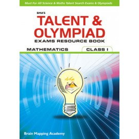 BMA's Talent & Olympiad Exams Resource Book Maths for Class 1