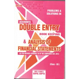 Deepa Problems & Solutions in Analysis of Financial Statements for Class 12