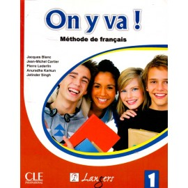 Langers On y va! Methode de Francais (Textbook + Workbook of French) Level 1(CLE)