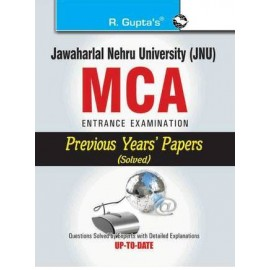 RPH JNU MCA Entrance Examination Previous Years Papers Solved (R-56) - 2018