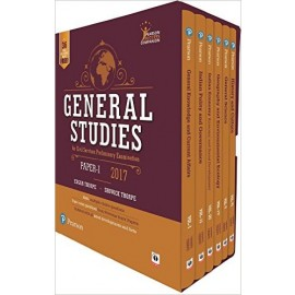 Pearson General Studies Paper I For Civil Services Preliminary Examination 2017 by Edgar Thorpe and Showick Thorpe