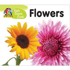Tricolour Kids Board Book Flowers