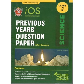 Silver Zone Olympiad Previous Years Question Paper with Answers Science for Class 2