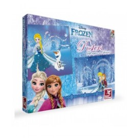Toy Kraft Disney Frozen - Posters With Sequins & Shimmer