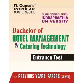 RPH GGSIPU Bachelor of Hotel Management and Catering Technology Entrance Test Guide (R-1095) - 2018