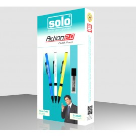 Solo Aktion Clutch Pencil with Lead Pack of 5 Pcs. (PPA12)