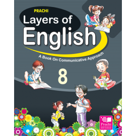 Prachi Layers of English Textbook for Class 8