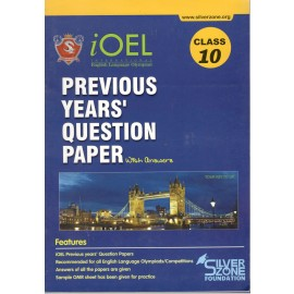 Silver Zone Olympiad Previous Years Question Paper with Answers English for Class 10