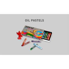 Doms Oil Pastels 12 Shades