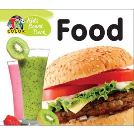 Tricolour Kids Board Book Food