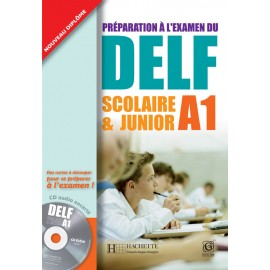 DELF Junior A1 Book of French by Hachette