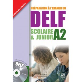DELF Junior A2 Book of French by Hachette