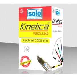 Solo Kinetica Pencil Leads (0.5 HB) - 20 Leads (LDHB5)
