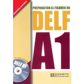 DELF A1 Book by French by Hachette