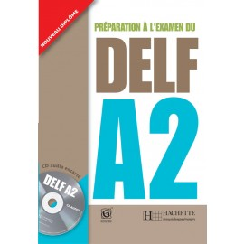 DELF A2 Book of French by Hachette