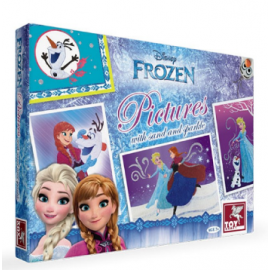 Toy Kraft Disney Frozen - Pictures With Sand & Sparkle