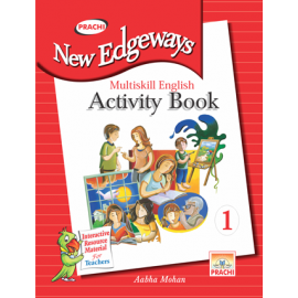 Prachi New Edgeways Multi Skill English Activity Book for Class 1